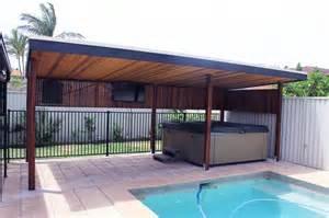 Pool Gazebo Plans by 6 Post Timber Pergola Pool Cabana Kwila Pergola Cedar