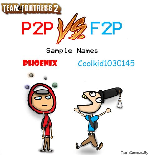 doodle f2p tf2 p2p vs f2p by trashcannon185 on deviantart