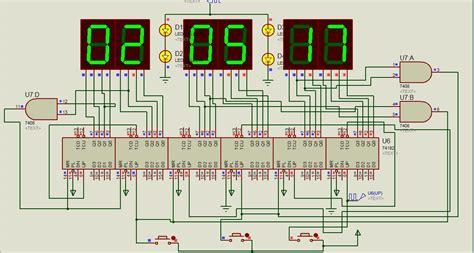 membuat jam digital dengan 7 segment riset arsip calesmart com