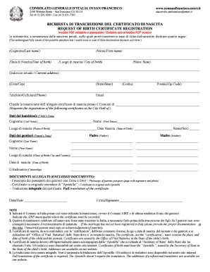 certificato di soggiorno richiesta di trascrizione certificato di matrimonio