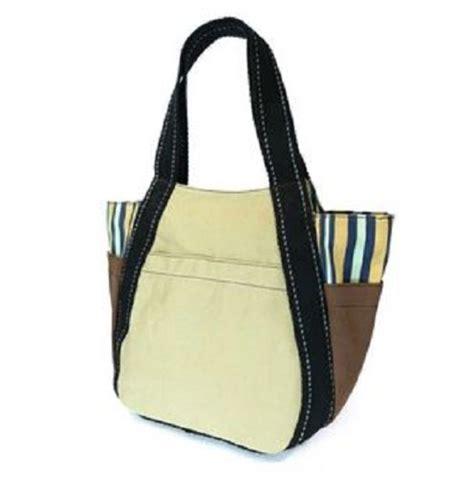 chala purse handbag leather canvas carryall tote bag sea