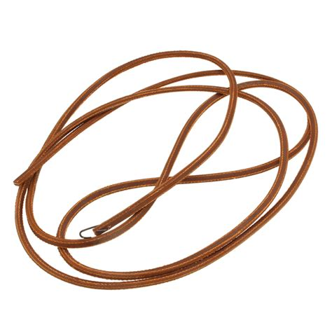 68 inch brown softer leather treadle belt for singer