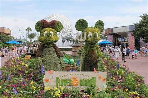 2017 Epcot International Flower Garden Festival Dates Disney World Flower And Garden Festival