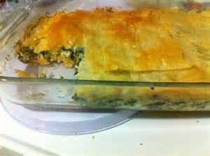 phyllo dough pie