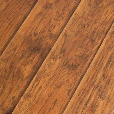 road house hickory 12 3mm ac4 hand scraped laminate plank wood floor 1 59 sf 27 60 picclick