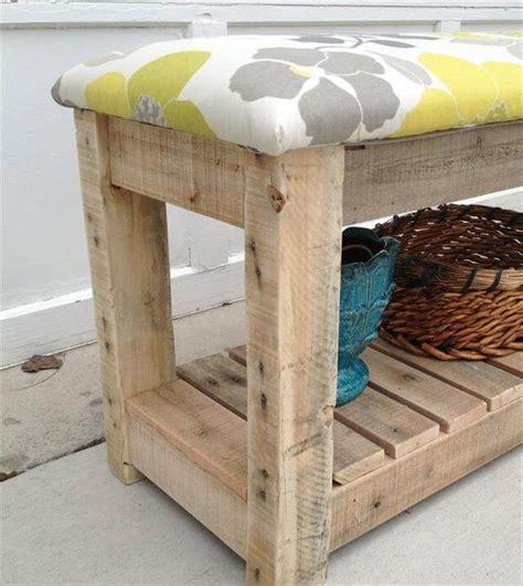 reclaimed wood mudroom bench diy reclaimed wood pallet bench mudroom bench 99 pallets
