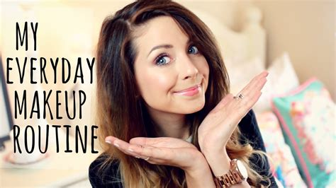 Zoella Makeup Tutorial | my everyday makeup routine zoella youtube