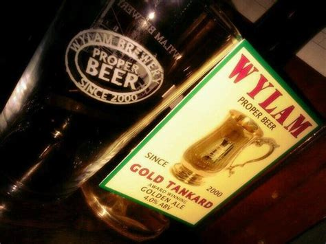 hen house brewery guest ale wylam gold tankard picture of coop chicken