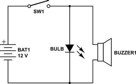 buzzer circuit diagram using dpdt wiring diagram with