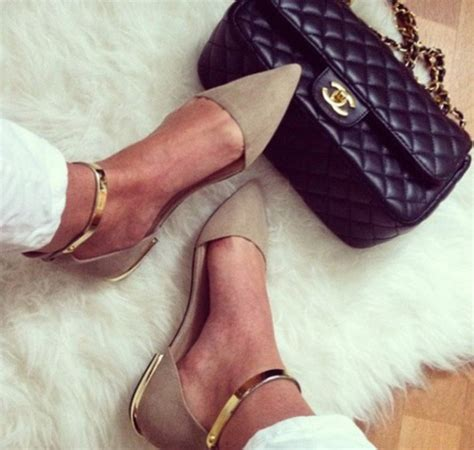 Flatshoes Zara Gold shoes pointy toe shoes pointy toe flats gold ankle