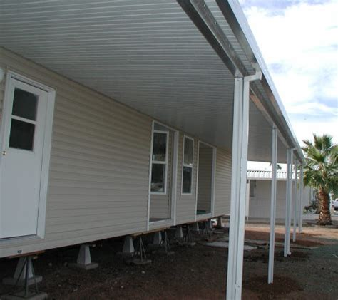 Aluminum Awnings For Mobile Homes by Mobile Home Awnings