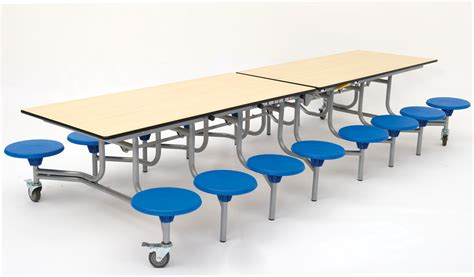 School Dining Tables Rectangular Mobile Folding Table Seating Unit School Dining Tables