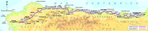 Camino De Santiago Northern Route by Going Day 0 Of My Northern Way To Santiago The