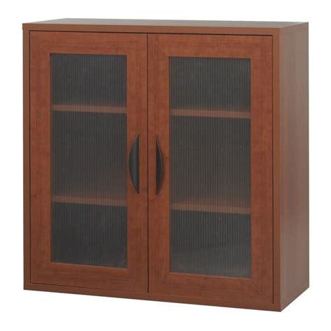 Prefabricated Cabinet Doors Modular Storage 2 Door Cabinet In Cherry 9442cy