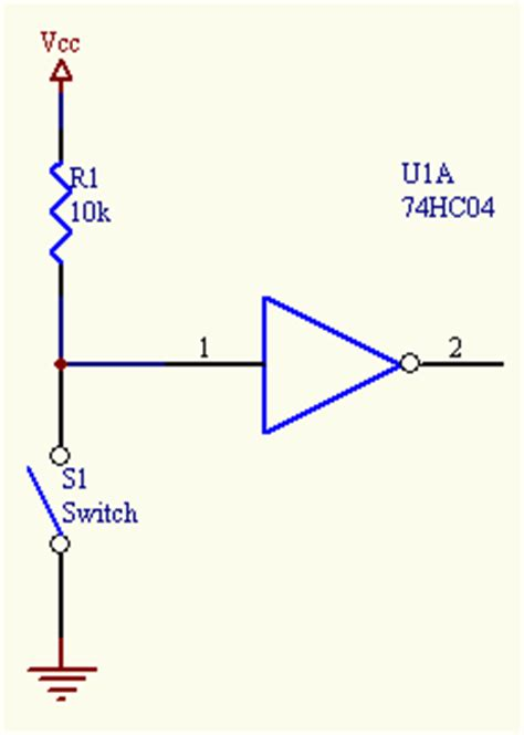 what is the use of pull up resistor in microcontroller the basics basic circuits