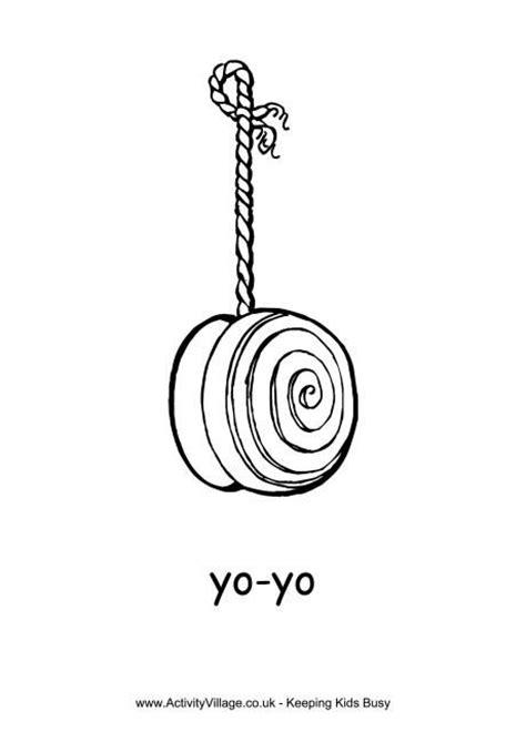 coloring page yoyo yo yo colouring page it s national yo yo day