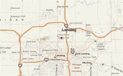 lansing location guide