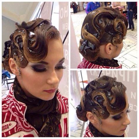 hair styles for convertables latin standard convertible hair style ballroom style