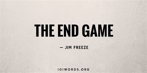 end game lyrics four words the end game 101 words