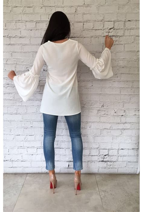 White Lili Blouse white abigail blouse white from ruby room uk