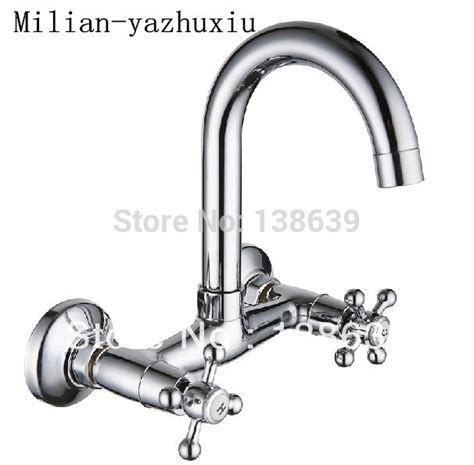 hot cold bathroom faucet aliexpress com buy wholesale wall mounted kitchen faucet hot and cold mixer bathroom