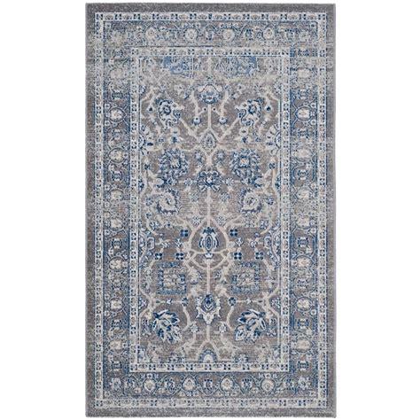 artisan area rugs safavieh artisan gray 3 ft x 5 ft area rug atn326g 3 the home depot
