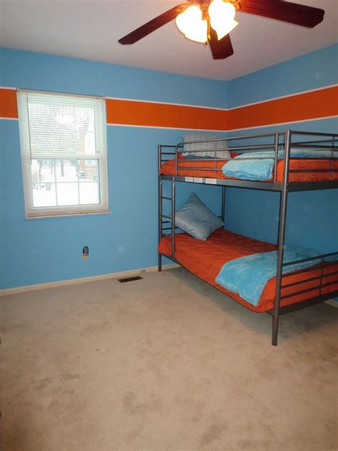 orange and blue rooms boys room blue and orange braeden s room pinterest