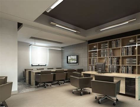 home office interior design by siraj v p home kerala plans ceo office with meeting room ofis pinterest ceo