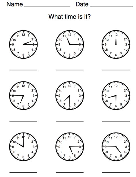 clock worksheets ks1 telling time half past worksheets images