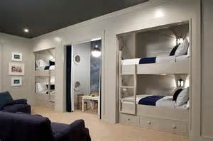 Plans For Building A Triple Bunk Bed by Built In Bunk Beds Traditional Boy S Room Keystone Kitchen And Bath