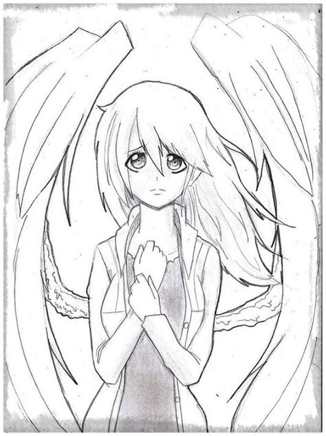 imagenes para dibujar anime imagenes de angeles anime para dibujar archivos imagenes