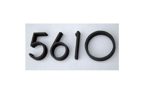 design within reach font 10 easy pieces house numbers remodelista