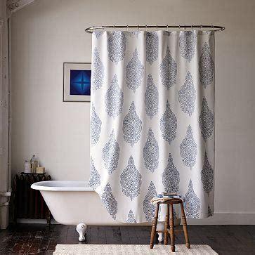 Medallion Shower Curtain West Elm