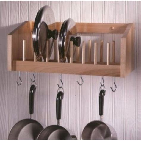 Shelf To Hang Pots And Pans 17 Best Ideas About Pan Organization On