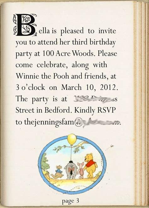 winnie the pooh birthday invitations templates winnie the pooh invitation pooh friends
