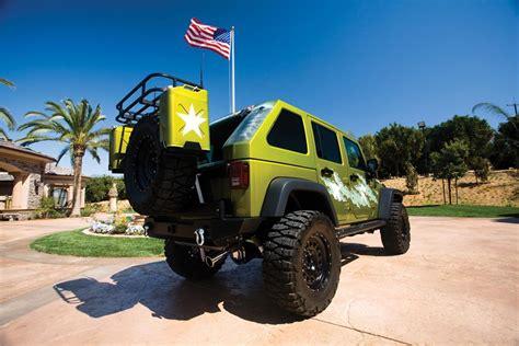 2007 jeep wrangler custom 4 door quot war wagon quot barrett
