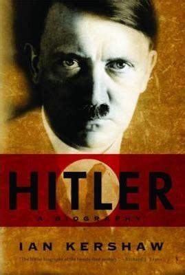 biography hitler in english hitler ian kershaw 9780393337617