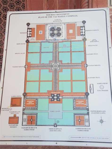 floor plan of taj mahal a wonder from other side the taj mahal redbluegrin