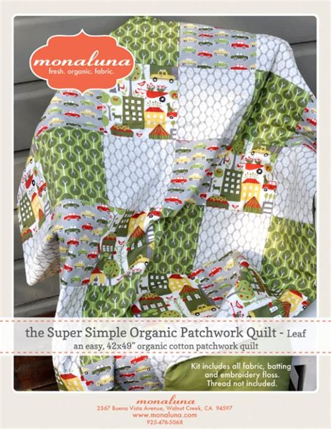 The Patchwork Quilt Summary - new fabrics and a quilt market review monaluna organic