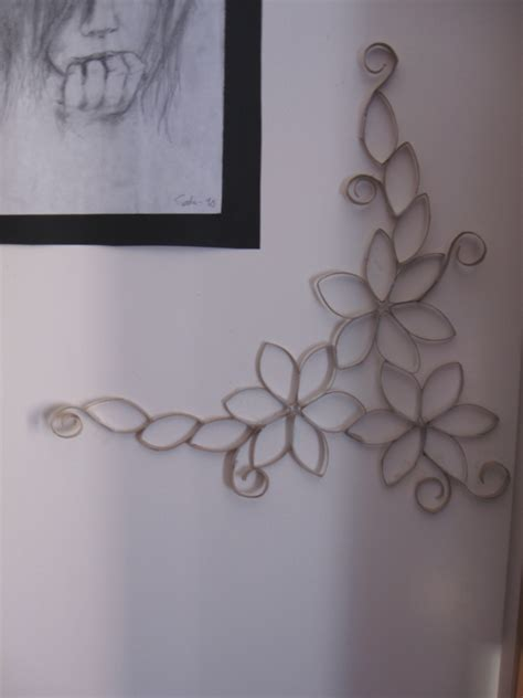 Toilet Paper Roll Wall Patterns