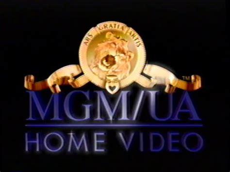 mgm ua home 1996 company logo vhs capture