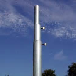 shop birds choice 12 ft steel bird feeder telescoping pole