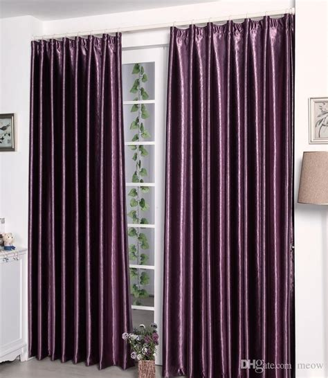 cheap thick curtains online cheap satin blackout curtain thick shade sunshade