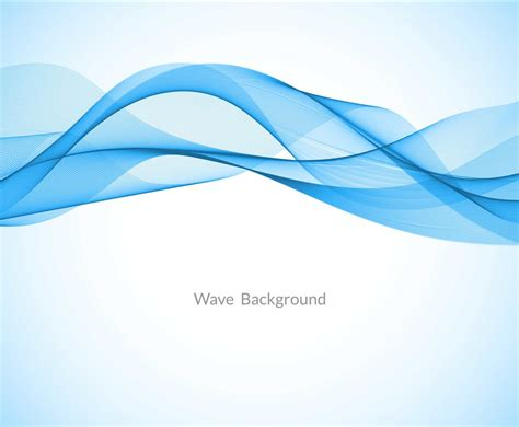 blue wave background free vector blue wave background vector graphics
