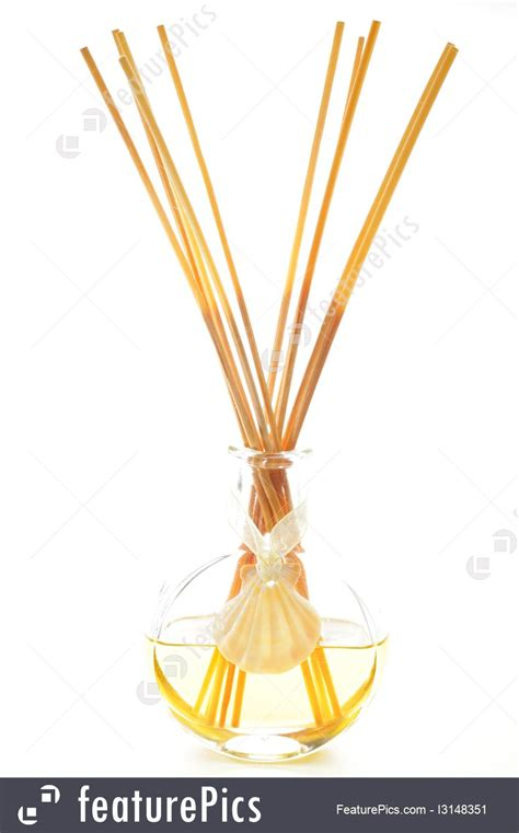 Stick Aromatheraphy Incense aromatherapy bottle with stick incense stock photo