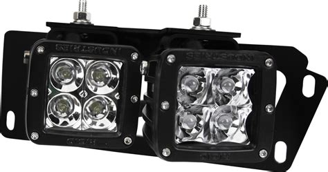 rigid industries fog lights rigid industries 46510 rigid fog light kit dodge ram