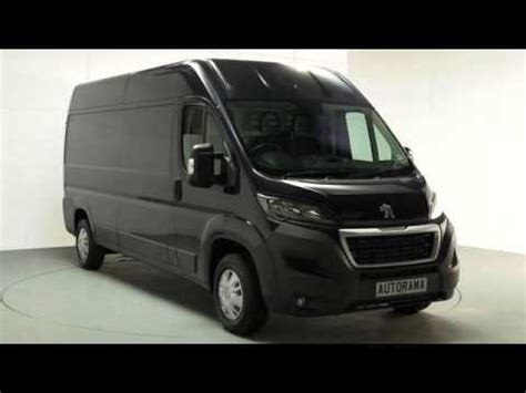 peugeot boxer van full review  youtube