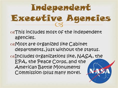 independent agencies of the united states government image gallery executive agencies
