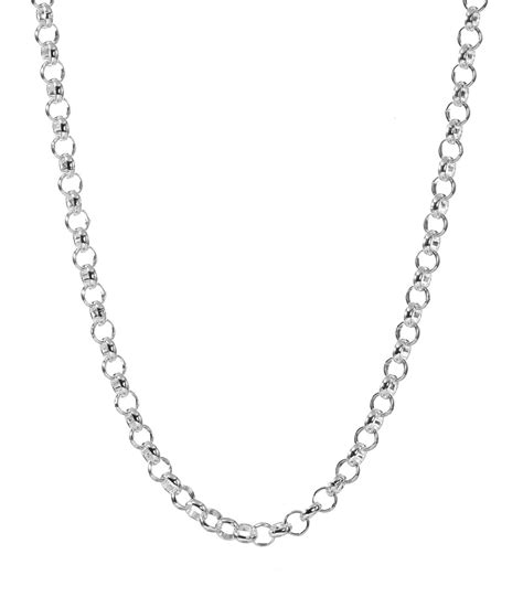 simple silver necklace chain silver necklace diamantbilds