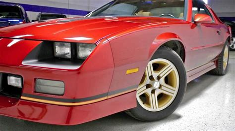 1988 camaro iroc z specs 1988 chevrolet camaro z28 iroc z midwest auto collection
